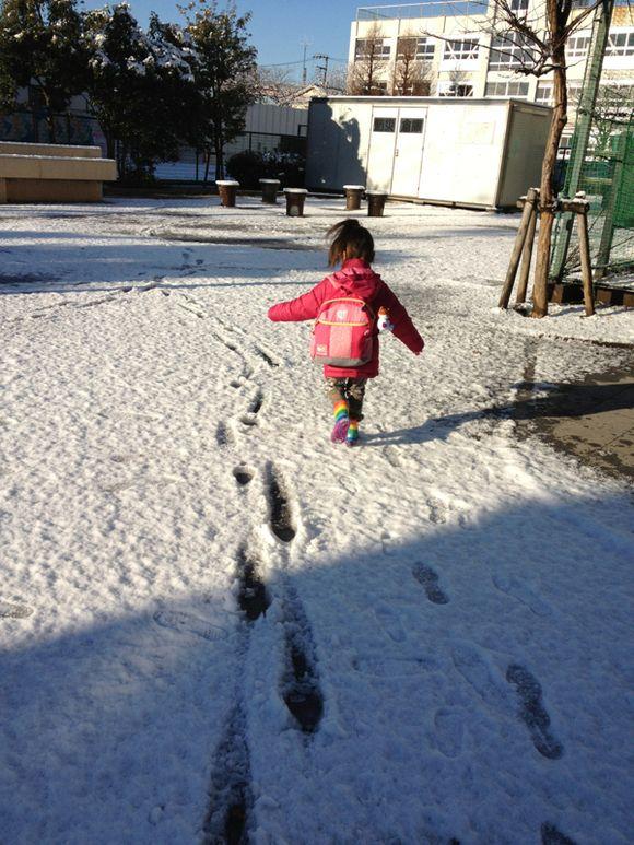 雪の国、TOKYO‼